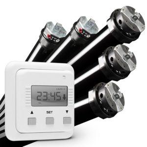 NOBILY Rohrmotor mit Zeitschaltuhr